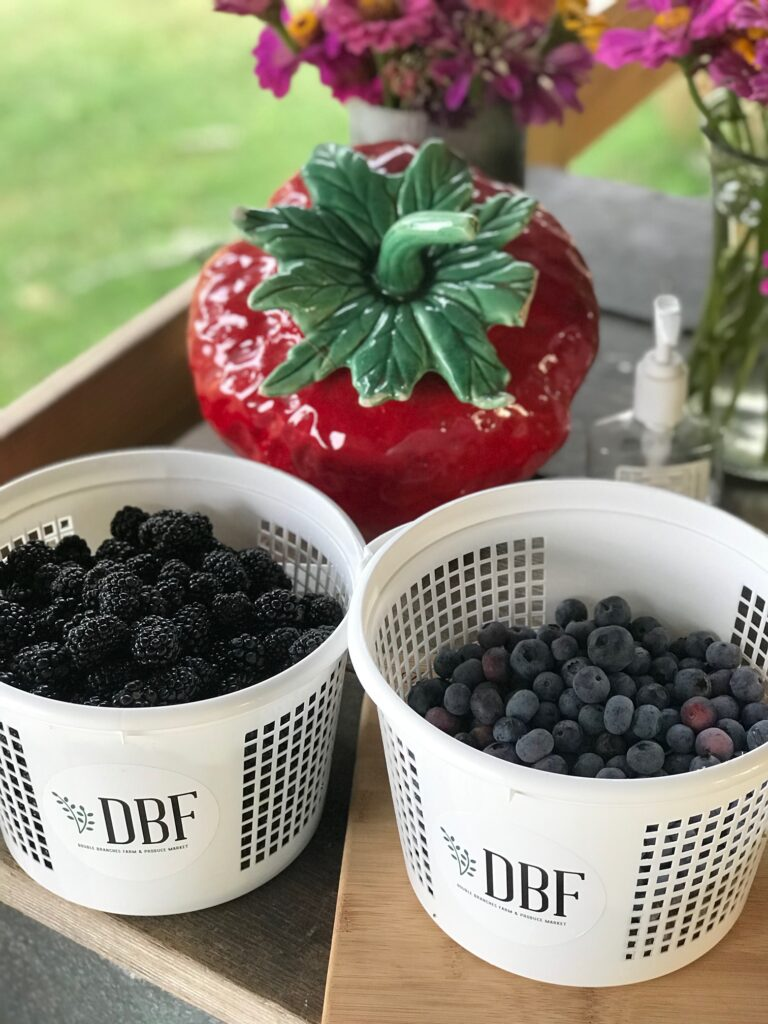Berries by the bucketful!